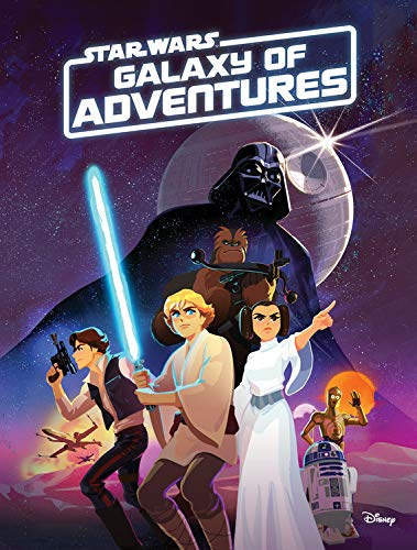 STAR WARS GALAXY OF ADVENTURES CHAPTER BOOK
