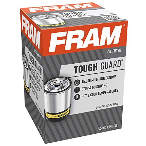 FRAM Tough Guard TG3614, 15K Mile Change Interval Passenger Car Spin-On Oil Filter