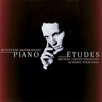 Études for Piano Recital