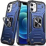 DASFOND Armor Hülle für iPhone 12 Mini Case Militärische