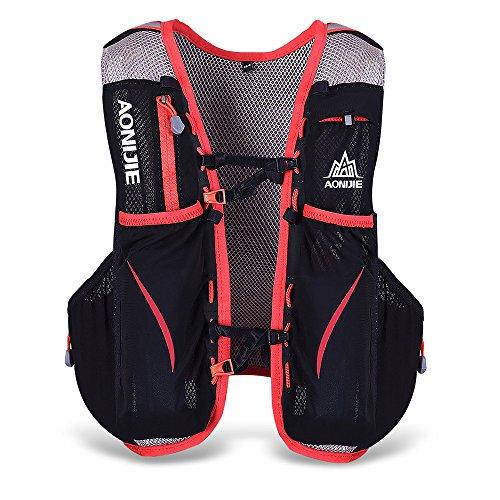Lixada 5L Vejiga de Agua Mochila, Mochila Hidratación, Running Mochila, Impermeable y Transpirable, para Camping, Marathoner, Correr, Caminar, Escalada, Actividades al Aire Libre (S-M)
