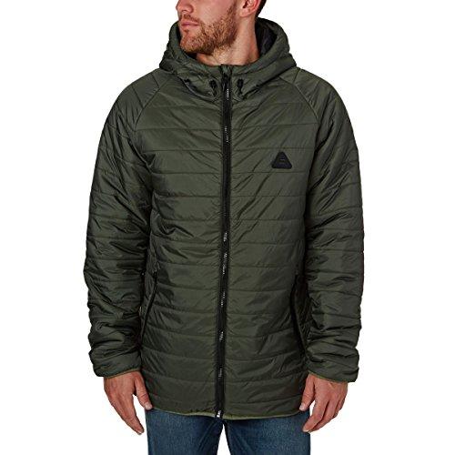 Billabong Herren Kodiak Puffer Jacke, Military, XL