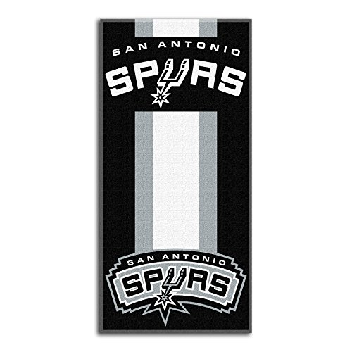 NBA San Antonio Spurs Zone Read Toalla de Playa, 30' x 60'