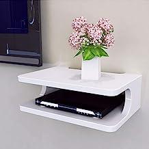 YANQ Tablette Flottante pour Composants de télévision, Console multimédia Murale en..