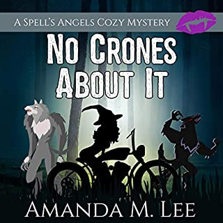 No Crones About It audiobook cover art