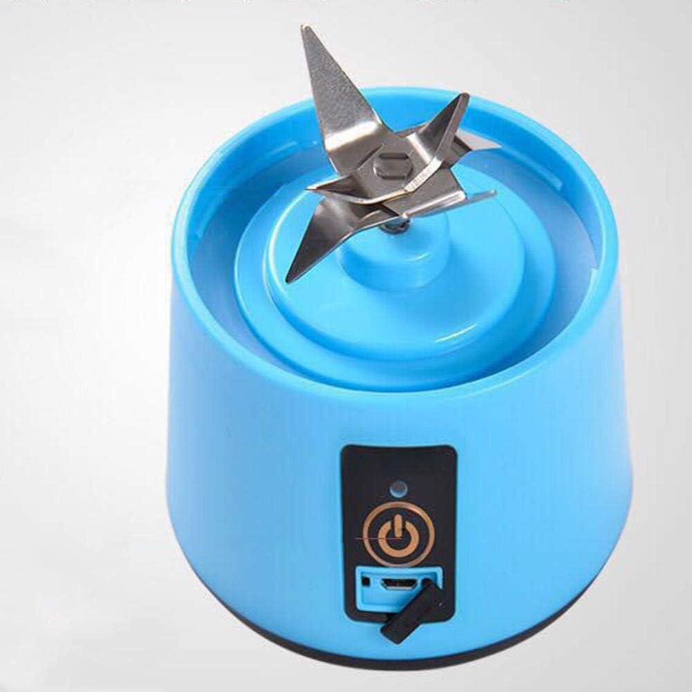 Licuadora Mini portátil Exprimidor doméstico Taza de jugo eléctrica Máquina de jugo multifunción Pequeña taza de jugo de carga-Púrpura Rojo