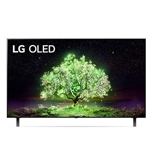 LG OLED48A16LA Smart TV 4K 48', TV OLED Serie A1 2021, Processore α7 Gen4, Dolby Vision IQ, Wi-Fi, webOS 6.0, FILMMAKER MODE, Game Optimizer, Google Assistant e Alexa Integrati, Telecomando Puntatore