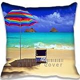 Hawaii Beach sehr schöne Kissen Fall DIY Kissenbezüge Baumwolle und Polyester Werfen Kissen Fall...