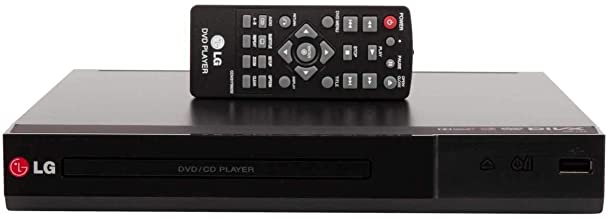 LG Region Free DVD Player - DP132 - Play Any DVD from Any Country (Renewed)