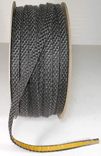 GUARNIZIONE TERMICA ADESIVA 550° mm 10 X 3 PER VETRO STUFE E CAMINI FORNI ECC.