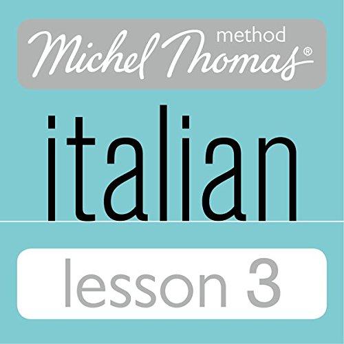 Michel Thomas Beginner Italian Lesson 3 cover art