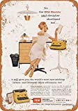 Yohoba Decoration Poster Sign,8x12inches,1956 IBM Electric