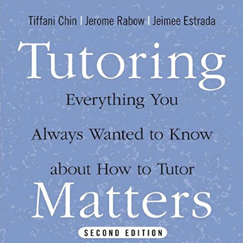 Tutoring Matters audiobook cover art