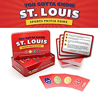 Best you gotta know st louis sports trivia game Reviews