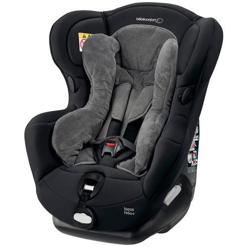 Bebe Confort Iseos Neo+ 0 + / 1 (0-18 kg; 0-4 años) Negro - Silla de coche (0 + / 1 (0-18 kg; 0-4 años), 5 puntos, Negro, Lavado a máquina, 30 °C, 570 mm)