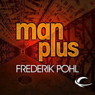 Man Plus  audiobook cover art