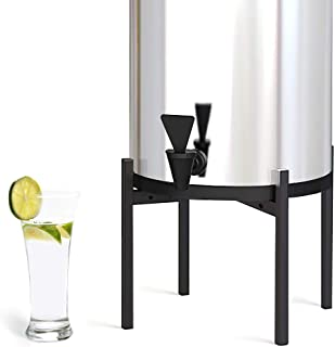 """Water Filter System Stand 8"""" Tall, Compatible Berkey Water Filter, Adjustable Fits 7.5"""" 8.5"""" 9.5"""" Wide, with Non-skid Pad,..."""
