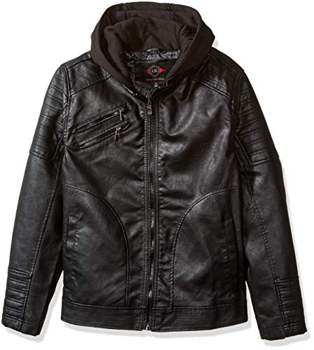 Jcpenney Faux Leather Jacket Men