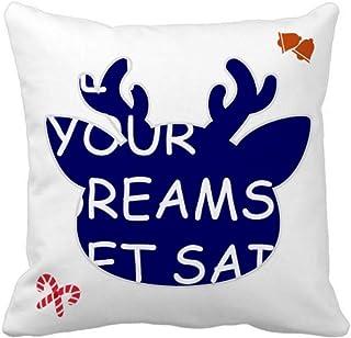 OFFbb-USA Let Your Dream Set Sail - Funda cuadrada para almohada