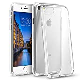 BasAcc [Crystal Clear] Ultra Slim Hybrid Case with [Anti-Shock Protection] TPU Bumper, [Non Slip] Hard Back Panel Case Cover Compatible with Apple iPhone 8/7 2016 (4.7'), Clear