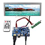 VSDISPLAY 9.1' 9.1 inch 822x260 LCD Screen LQ091B1LW01 Industrial Display with HDMI Audio LCD Controller Board, industrail LCD fit for Arcade Machines/DIY displays/Car Monitor/Raspberry Pi
