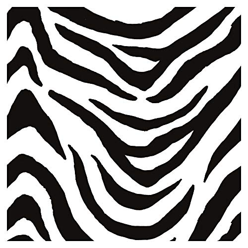 murando Vlies Tapete Deko Panel Fototapete Wanddeko 10 m Tapetenrolle Mustertapete Wandtapete modern design Dekoration - Zebra Zebramuster Tiermuster schwarz weiß f-A-0112-j-b