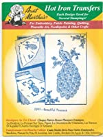 Aunt Martha's Hot Iron Transfers 3297 Beautiful Peacock Size One by Aunt Martha's