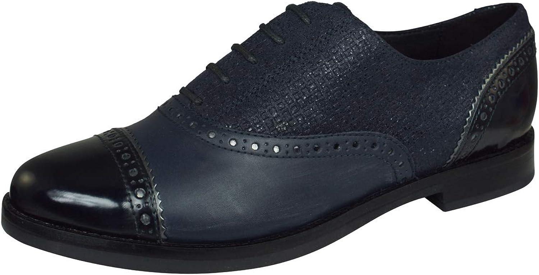 Geox Halbschuhe   Derby-Schuhe, Farbe Blau, Marke, Modell Halbschuhe  Derby-Schuhe D Promethea Blau  Schnelle Lieferung