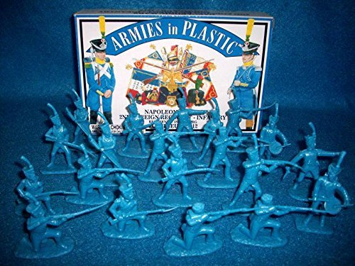 Napoleonic Wars 1812 2nd Foreign Regiment Infantry German Voltigeur (20) 1/32 Armies in Plastic by Armies in Plastic