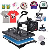 MosaicAL All in One T-Shirt Heat Press Machine Latte Mug Cup Sublimation Printing Hot Press Clamshell Transfer...