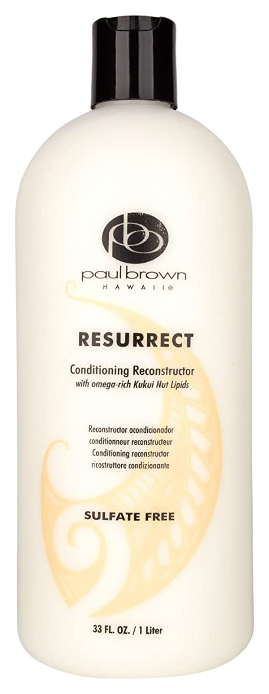 送料酔って適合するPaul Brown Hawaii コンディショナーリットル、33オンスを復活 33 fl。オンス 明確な
