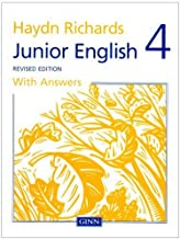 Haydn Richards Junior English Book 4 with Answers (Revised Edition): Bk. 4 by Angela Burt (1997-12-16)