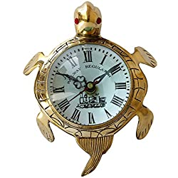 collectiblesBuy Wall Turtle Marine Clock Nautical Brass Roman Watch Antique Gifts Vintage Clocks Home Decor
