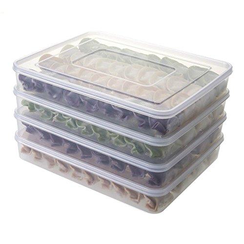 Wuyue HuaContenitori per aliment, impilabile, frigo e freezer Storage box Stack cassetto contenitore organizer, plastica