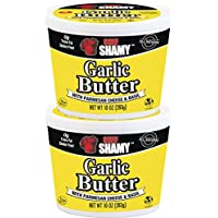 2-Pack Chef Shamy Garlic Butter, Parmesan Basil, 10 Ounce