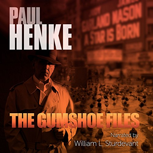 The Gumshoe Files audiobook cover art