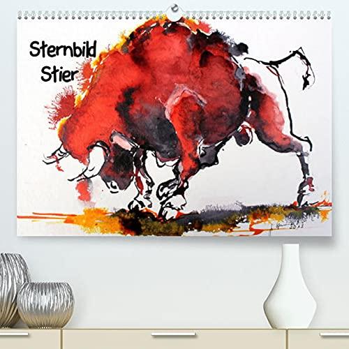 Sternbild Stier (Premium, hochwertiger DIN A2 Wandkalender 2022, Kunstdruck in Hochglanz): Kraftvolle Stiere in Bewegung (Geburtstagskalender, 14 Seiten ) (CALVENDO Tiere)