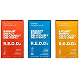 R.E.D.D. Bar, Vegan Protein Bar, Low Sugar & Gluten-Free, Variety Pack 1, 18 Bars