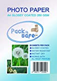 Packitsafe 500 hojas A4 260Gl500 - Papel fotográfico profesional (210 x 279 mm)