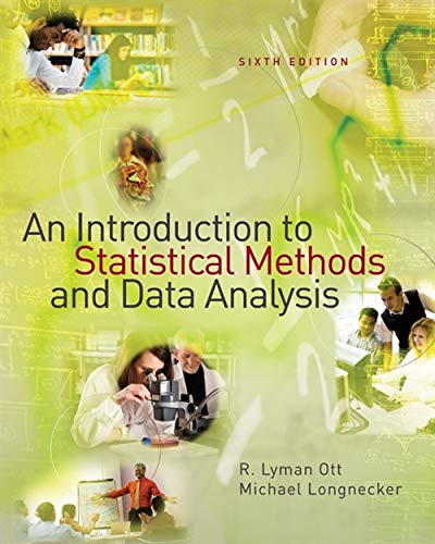 An Introduction to Statistical Methods and Data Analysis...