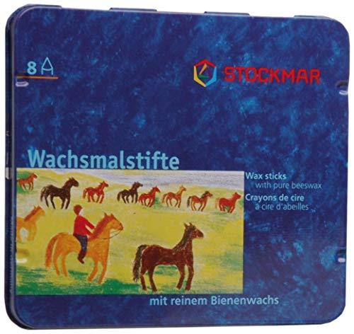 Stockmar Wax Stick Crayons - 8 Colors