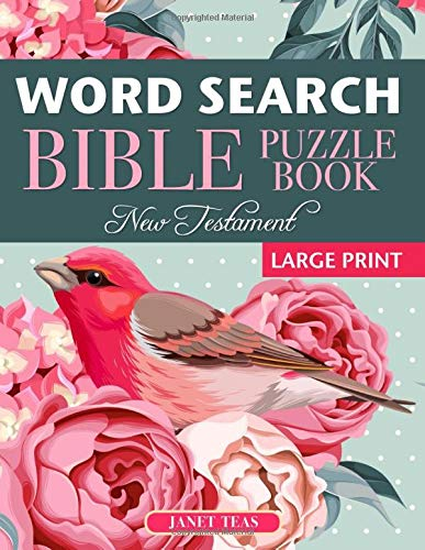 New Testament Bible Word Search Book: 70 Large Print Puzzles