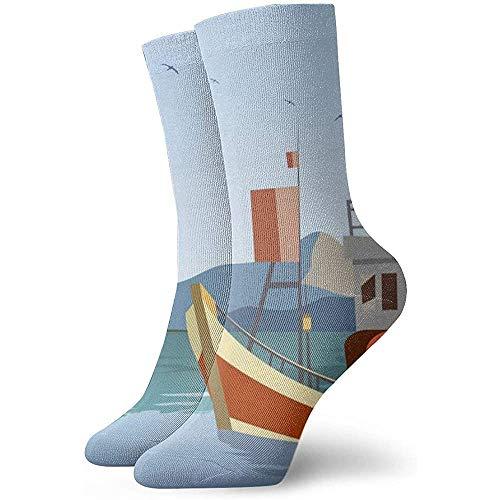Tammy Jear Paquete de calcetines de vestir para hombre Calcetines de tripulación...