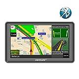 GPS Auto avec Bluetooth Système de Navigation Automatique à écran Tactile de 7 Pouces Cartographie Europe 48 Pays Prise en...