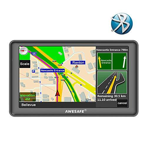 GPS Auto avec Bluetooth Système de Navigation Automatique...