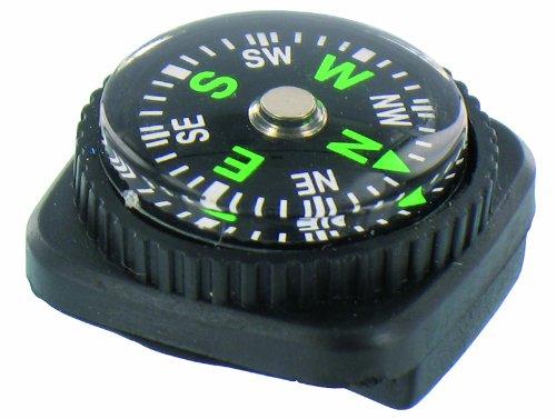 Highlander Watch Strap Compass Armbandkompass, schwarz, One Size