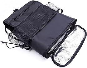 Auto Back Seat Organizer Seat Back Opbergtas, Multi Pocket Heat Conservering Travel Opbergtas Met Mesh-zakken Voor De Mees...