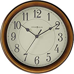Howard Miller Virgo Wall Clock 625-381 – Modern & Round with Quartz Movement