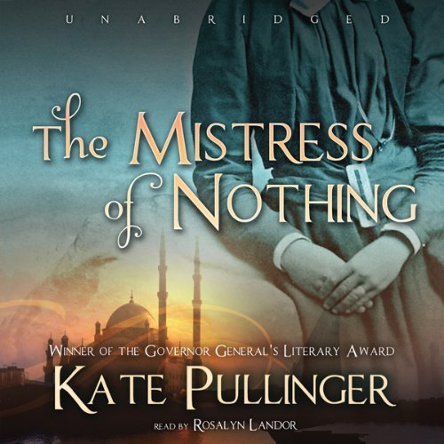 The Mistress of Nothing audiobook cover art