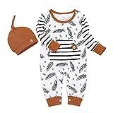 DAY8 Vêtements Pyjama Bebe Garcon Automne 0-24 Mois Body Bebe Fille Manche Longue Hiver Combinaison Barboteuse Bebe...